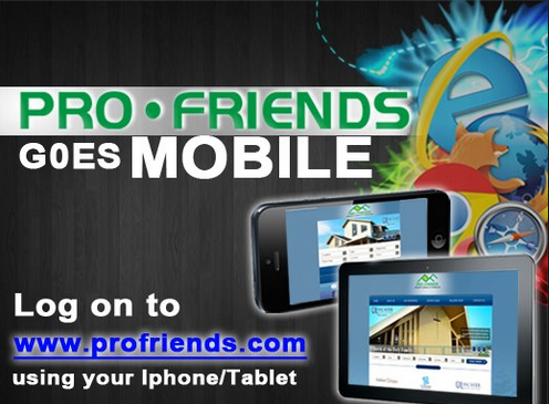 profriends goes mobile