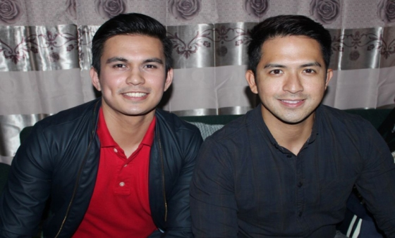 Tom Rodriguez and Dennis Trillo