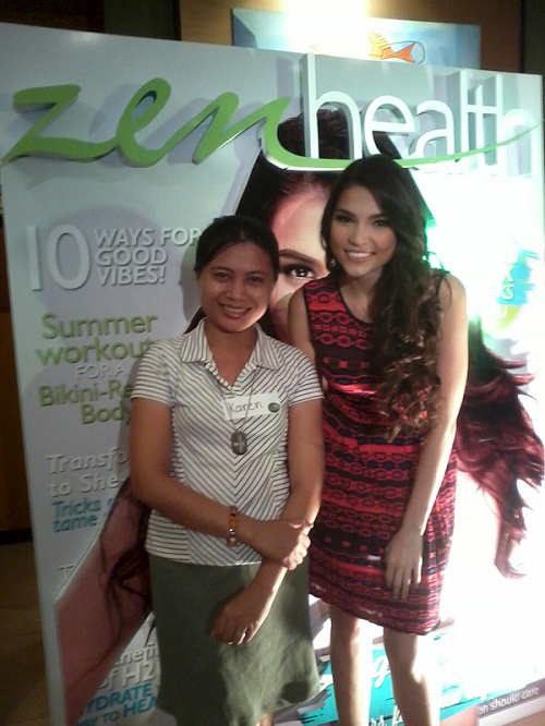 rhian ramos with krincess